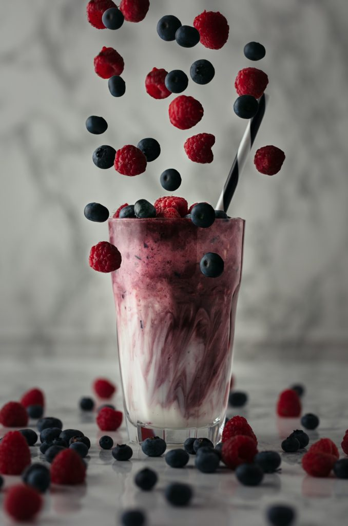 respberry and apple delicious smoothies
